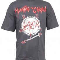 Tričko pánské Slayer Haunting The Chapel 2866ca53d4